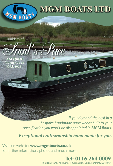 NARROW BOAT BUILDERS & BESPOKE NARROWBOAT FIT OUTS FROM MGM BOATS LEICESTER.